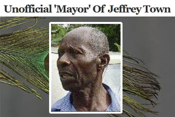Maas Roy unofficial mayor of Jeffrey Town