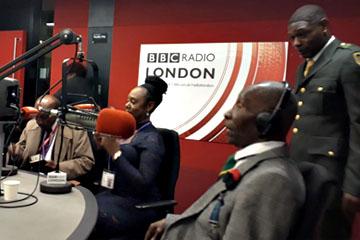 Memorial Sunday at BBC London